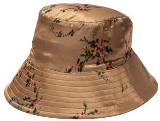 Preen by Thornton Bregazzi Holly Floral Bucket Hat - Womens - Tan 3b64ecaa2f21