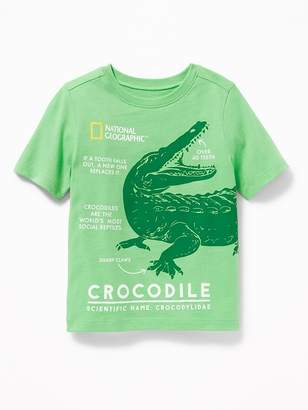Old Navy National Geographic Crocodile Tee for Toddler Boys
