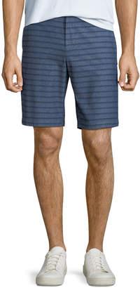 Original Penguin Men's Striped Straight-Leg Shorts
