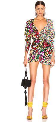 ATTICO Mini Pat Dress in Bicolor Spot | FWRD