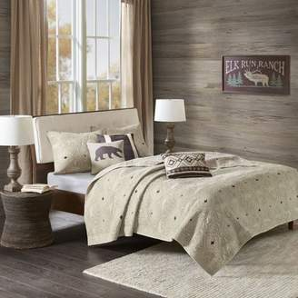 Home Essence Cheyenne 6 Piece Herringbone Bedding Coverlet Set