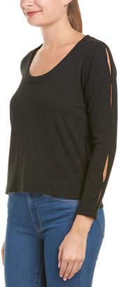 Anama Slit Sleeve Sweater