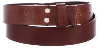Maison Margiela Leather Strap Belt