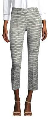 Piazza Sempione Printed Cropped Pants