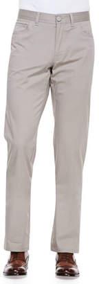 Brioni Stelvio Five-Pocket Pants, Beige