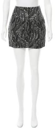 Balenciaga Brocade Mini Skirt