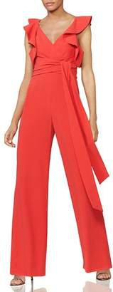 Halston Flounce-Sleeve Jumpsuit - 100% Exclusive