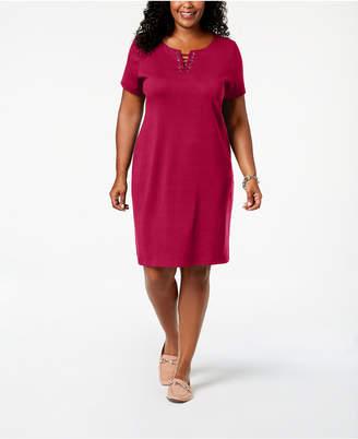 Karen Scott Plus Size Sheath Dress, Created for Macy's