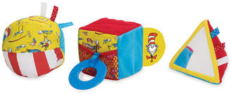 Dr. Seuss Manhattan Toy Cat In The Hat Shape Set Baby Activity Toy