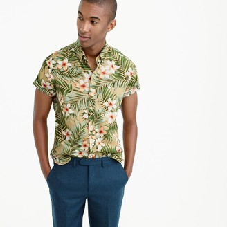 Short-sleeve shirt in jungle print $59.50 thestylecure.com