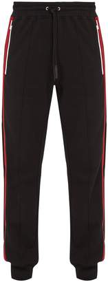 Givenchy Side-stripe cotton track pants