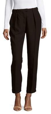 Carven Solid Pleated-Front Pants