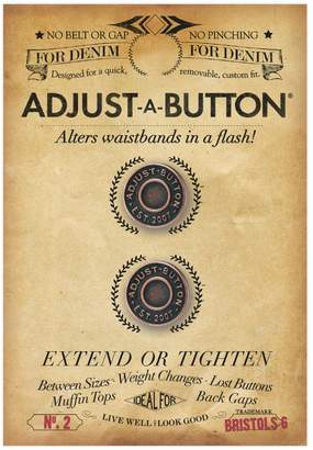 Bristols 6 Nippies by Bristols Six Adjust-A-Button for Denim-2 count