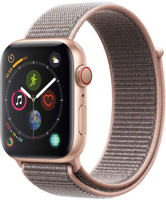 Apple Watch Series 4 Gps + Cellular, 44mm Gold Aluminum Case with Pink Sand Sport Loop