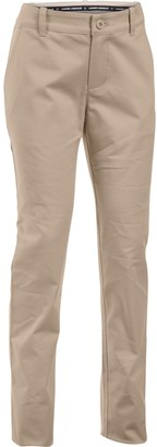 Under Armour Girls' UA Uniform Chino Pants - Pre-School