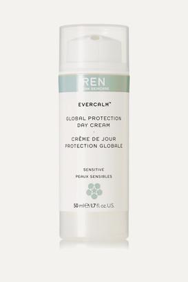 Ren Skincare EvercalmTM Global Protection Day Cream, 50ml - Colorless