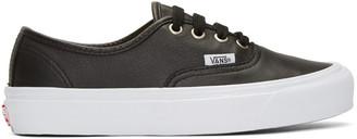 Vans Black OG Authentic LX Sneakers $85 thestylecure.com