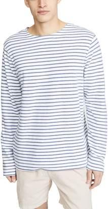 Save Khaki Striped Mariner Tee