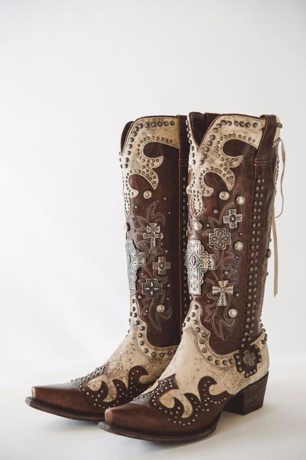 Double D Ranchwear Ammunition Cowgirl Boot