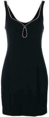 Alexander Wang ball chain trim mini dress