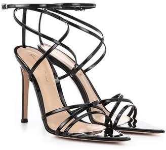 Gianvito Rossi Kim patent leather sandals
