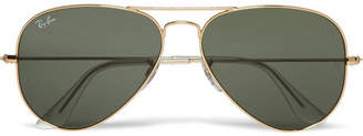 Ray-Ban Aviator Gold-tone Sunglasses - Gold
