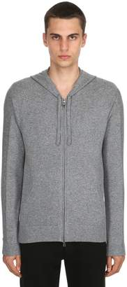 Premium Cashmere Knit Hoodie