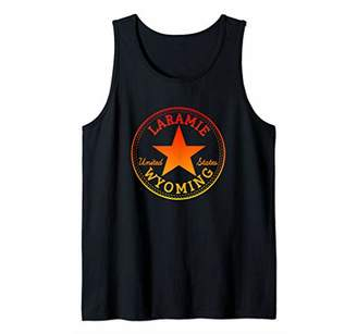 LARAMIE WYOMING United States USA Skater Outdoor Outfit Tank Top
