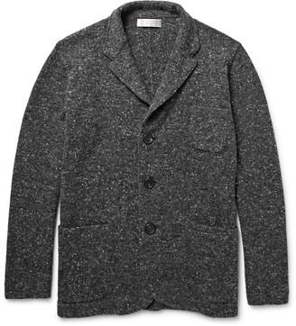 Brunello Cucinelli Mélange Virgin Wool-Blend Cardigan $1,995 thestylecure.com