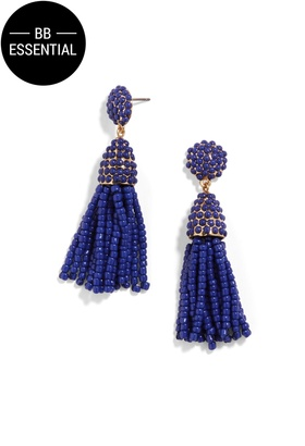 Mini Piñata Tassel Earrings $32 thestylecure.com