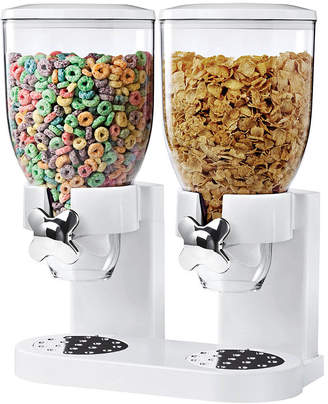 Zevro Honey-Can-Do Double Cereal Dispenser with Portion Control