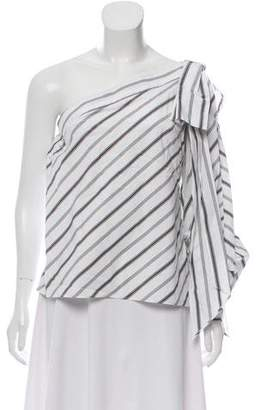 Milly Nina One-Shoulder Top w/ Tags