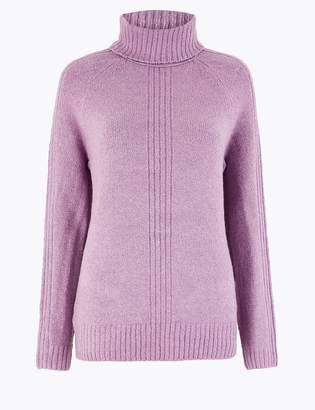Marks and Spencer Cosy Roll Neck Jumper