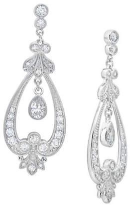 Crislu ANDREW PRINCE BY Andrew Prince Vintage Inspired Pear Drop Earrings