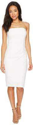 Donna Morgan Strapless Stretch Crepe Bodycon Dress Women's Dress