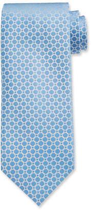Stefano Ricci Luxe Chain-Print Silk Tie
