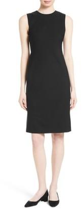 Women's Theory Eano Stretch Wool Sheath Dress $345 thestylecure.com