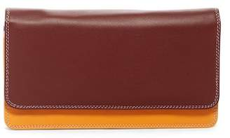 Mywalit Colorblock Leather Matinee Wallet