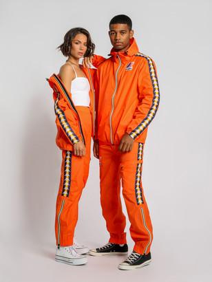 Kappa Le Vrai Edgard Banda Track Pants in Flame Orange