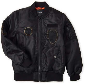 Joe's Jeans Boy 8-20) Black Bomber Jacket