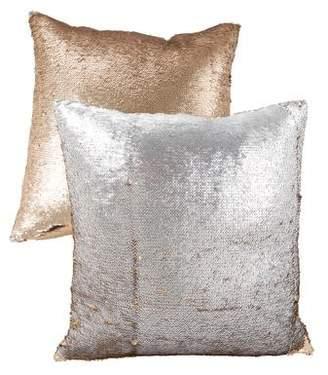 Aviva Stanoff Pair of Sequin Throw Pillows
