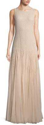 Alice + Olivia Women's Saori Embellished Gown