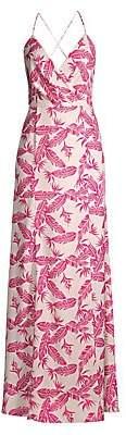 Jay Godfrey Women's Turner Faux Wrap Maxi Dress
