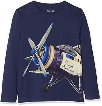 Mayoral Boy's 3095 Long Sleeve T-Shirt,(Size: 6)