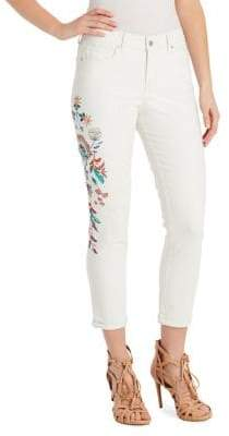 Jessica Simpson Plus Forever Roll Ankle Skinny Jeans