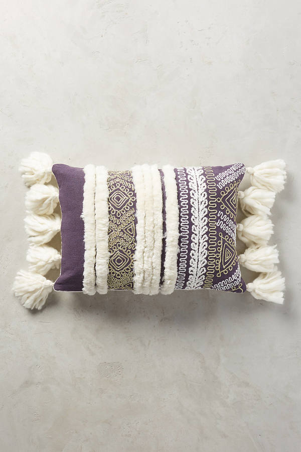 AnthropologieAnthropologie Tasseled Zonda Pillow