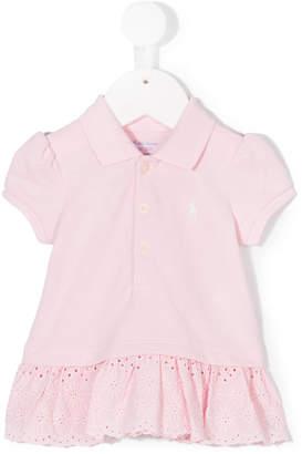 Ralph Lauren embroidered dress