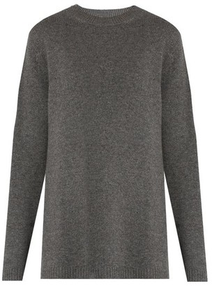 Raey Loose Fit Cashmere Sweater - Womens - Grey