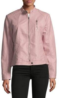 Vero Moda Stand Collar Full-Zip Jacket
