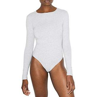 American Apparel Women's Cotton Spandex Long Sleeve Bodysuit